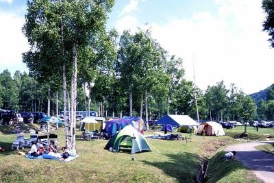 岩尾内湖白樺キャンプ場写真1