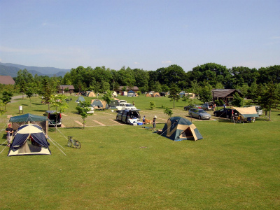 洞爺水辺の里 財田キャンプ場写真1