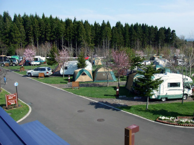 はこだてオートキャンプ場写真2