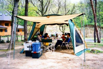 鮭川村エコパーク 栗の木オートキャンプ場写真1
