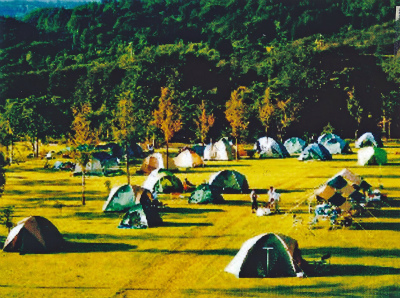 月山・弓張平オートキャンプ場写真2