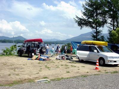 桧原西湖畔オートキャンプ場写真1