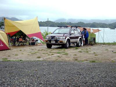 桧原西湖畔オートキャンプ場写真2