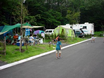 御蔵入の里 うさぎの森オートキャンプ場写真1