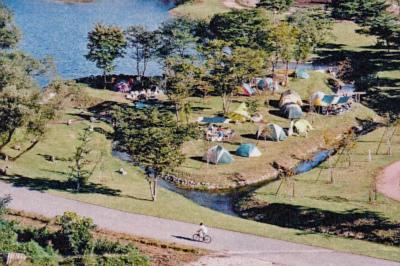 那須塩原市鳥野目河川公園オートキャンプ場写真1