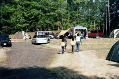 鷲の巣キャンプ場写真5
