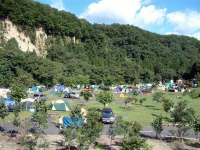 猿ヶ京温泉 湯島オートキャンプ場写真1