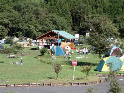猿ヶ京温泉 湯島オートキャンプ場写真2