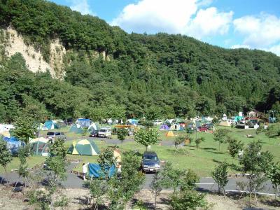 猿ヶ京温泉 湯島オートキャンプ場写真5