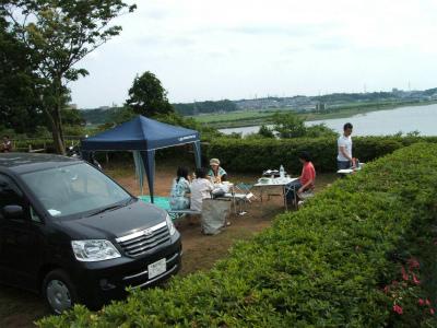 印旛沼サンセットヒルズオートキャンプ場写真1