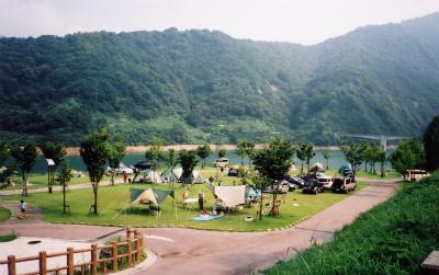 桂湖オートキャンプ場写真1