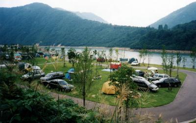 桂湖オートキャンプ場写真4