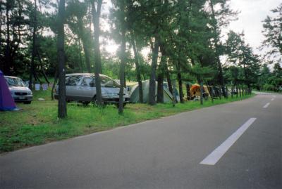 大島キャンプ場写真2