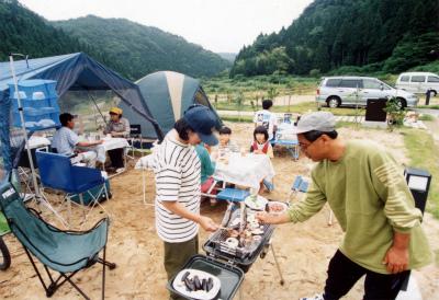 西俣キャンプ場写真1