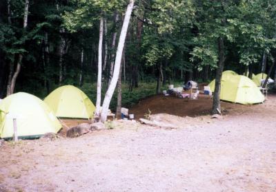 みずがき山森の農園キャンプ場写真2