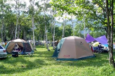 戸隠キャンプ場写真2