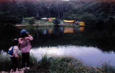 八千穂高原駒出池キャンプ場写真1