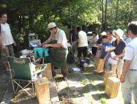 戸田はかま滝オートキャンプ場写真2