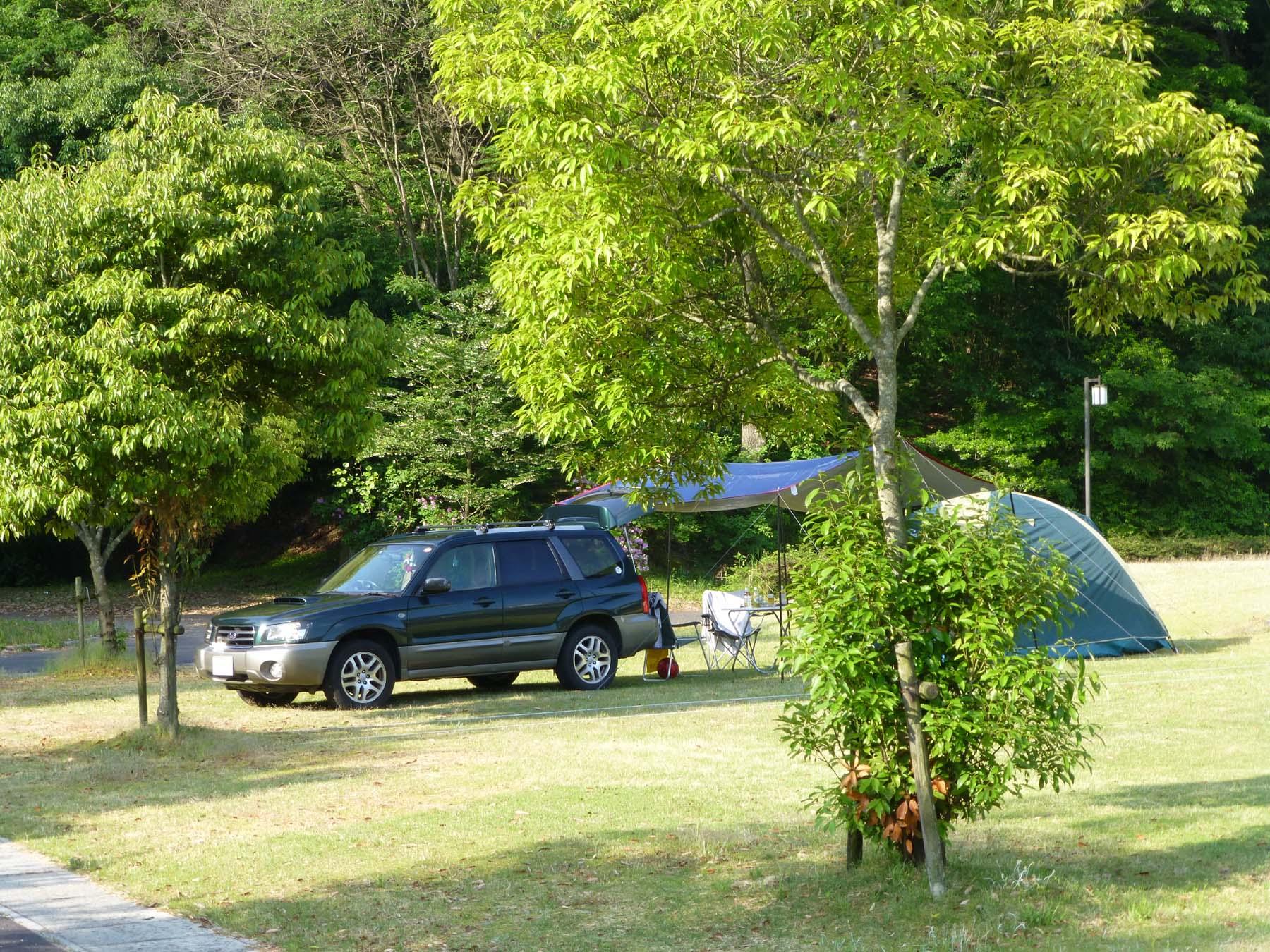 十二坊温泉オートキャンプ場写真1