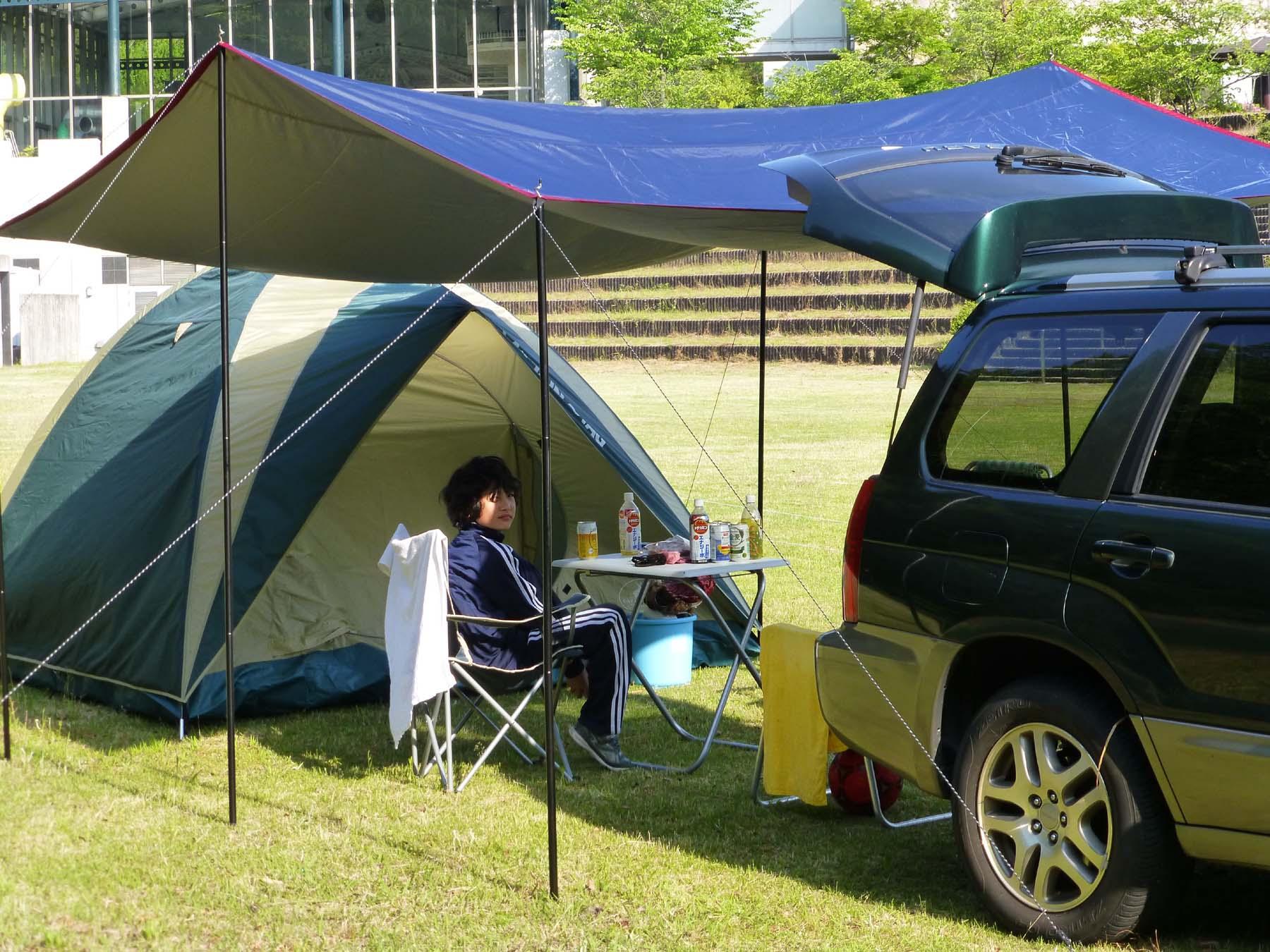 十二坊温泉オートキャンプ場写真3