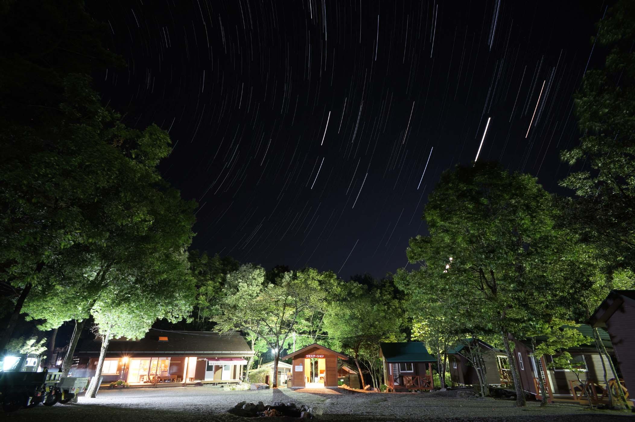 篠沢大滝キャンプ場写真1