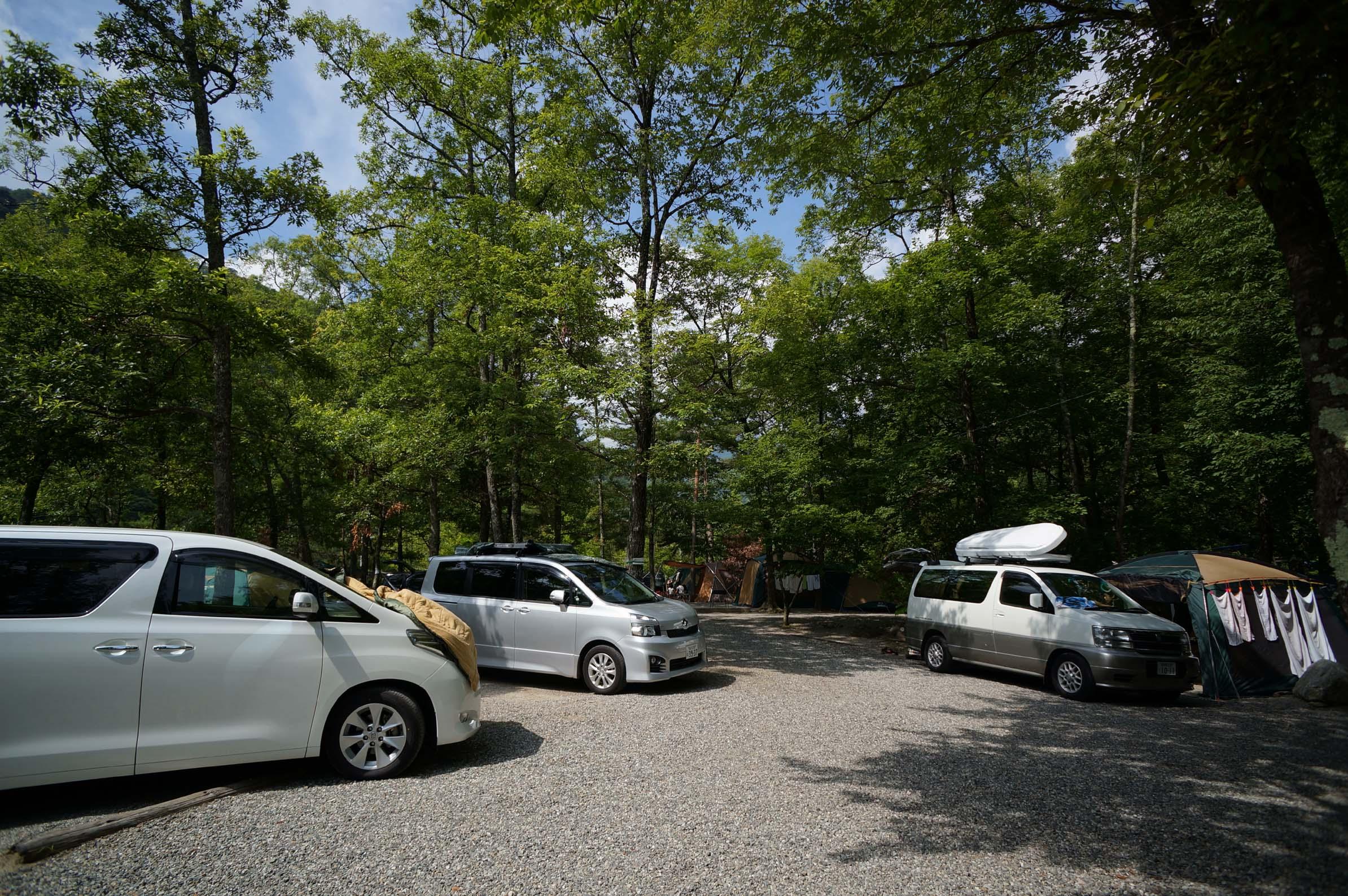 篠沢大滝キャンプ場写真2