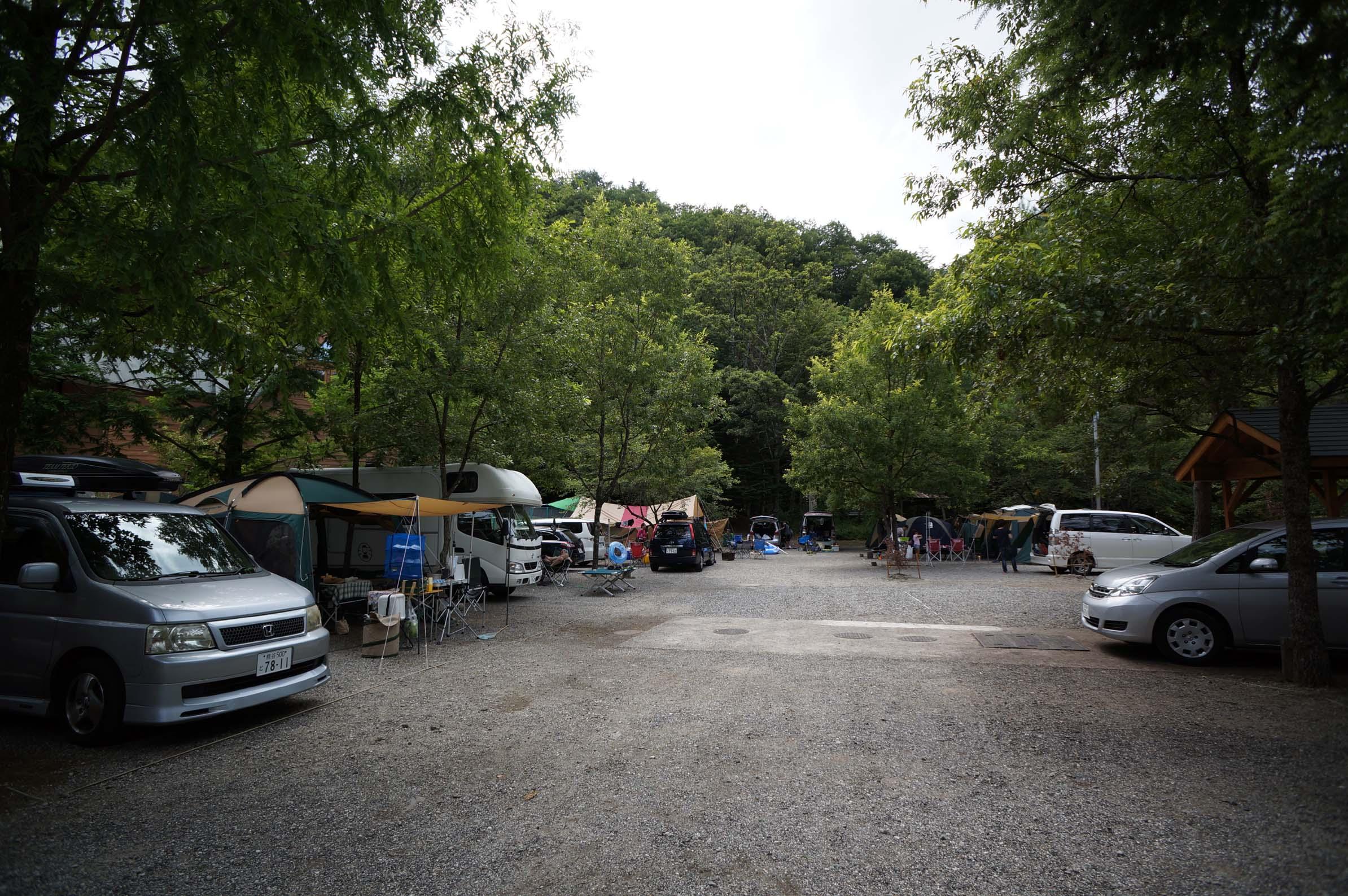 篠沢大滝キャンプ場写真3
