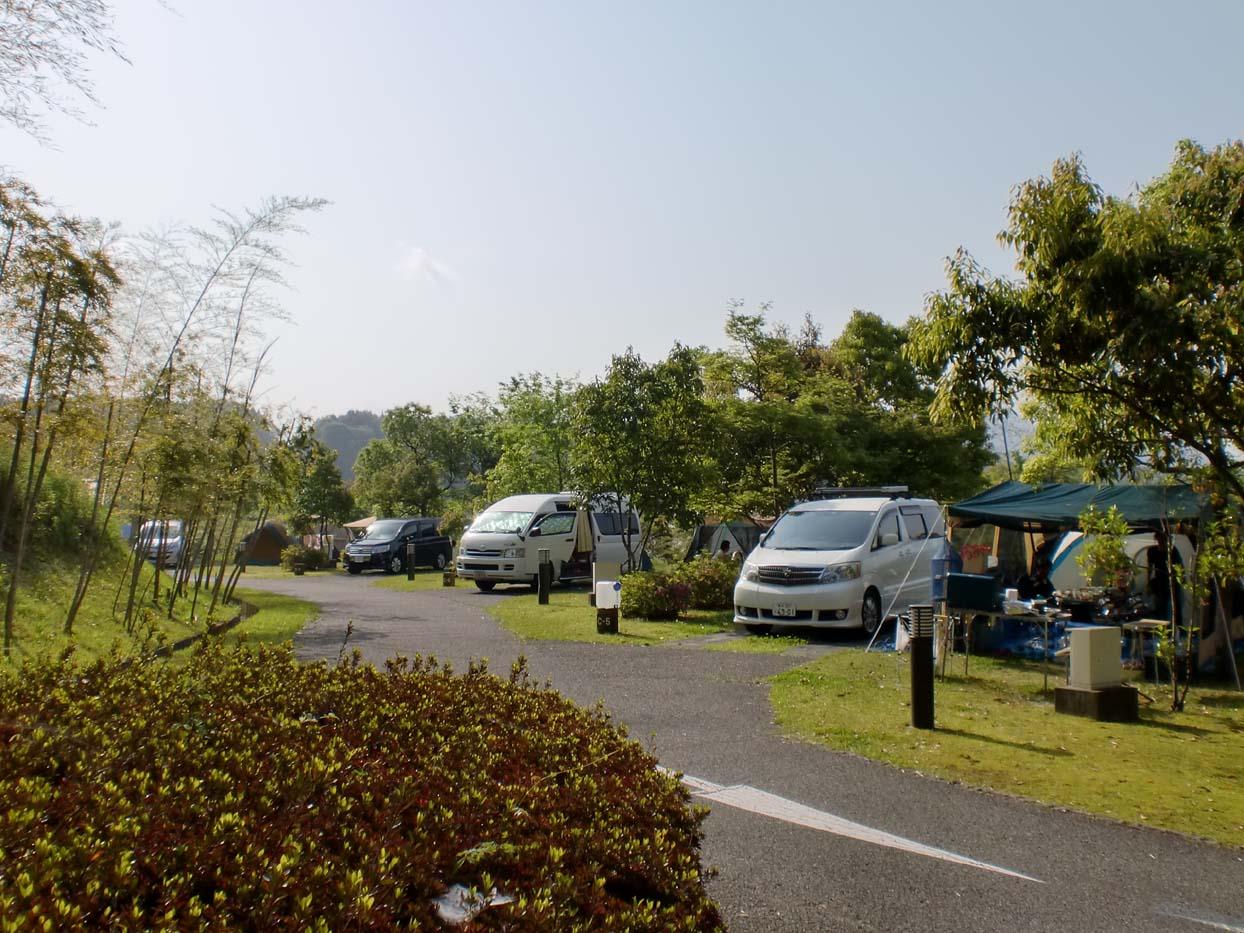北薩広域公園オートキャンプ場写真2