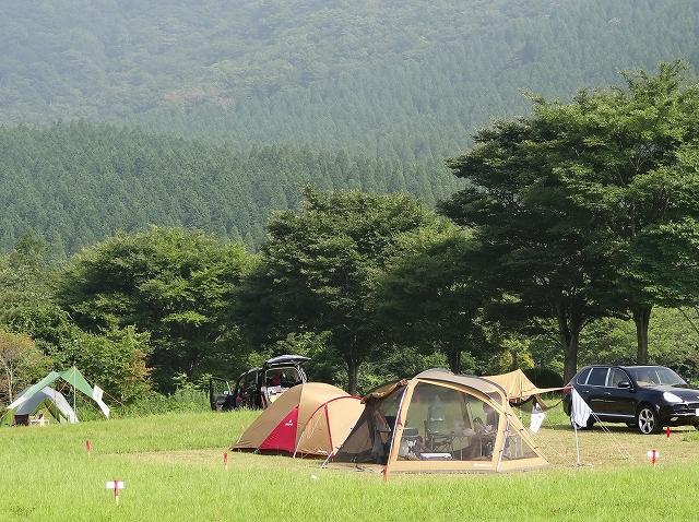 久住高原沢水キャンプ場写真1