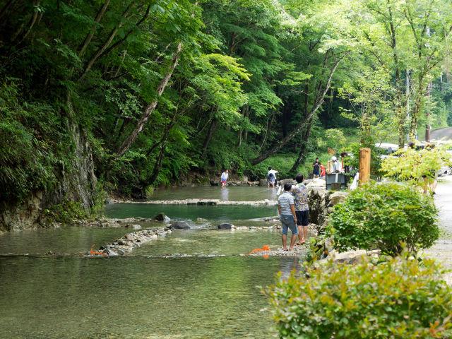 ナラ入沢渓流釣りキャンプ場写真10