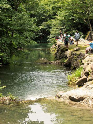 ナラ入沢渓流釣りキャンプ場写真5