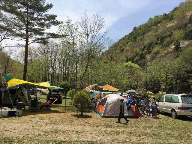 ナラ入沢渓流釣りキャンプ場写真6