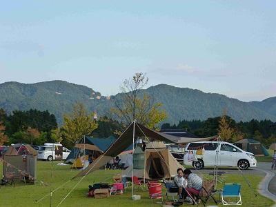 白山吉野オートキャンプ場写真1