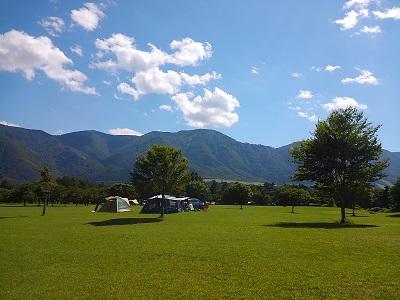 吹上高原キャンプ場写真1