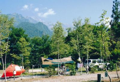合掌の森中尾キャンプ場写真3