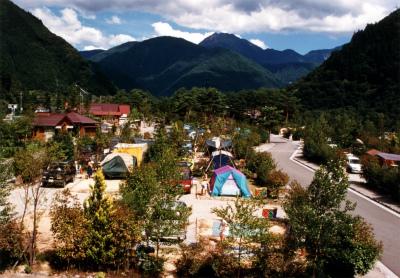 奥飛騨温泉郷オートキャンプ場写真1