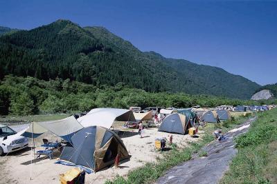 奥飛騨温泉郷オートキャンプ場写真7