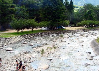 中川原キャンプ場写真1