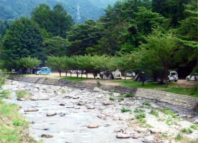 中川原キャンプ場写真2