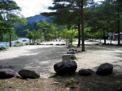 塔の岩オートキャンプ場写真1