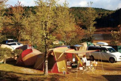 椛の湖オートキャンプ場写真2