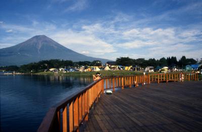田貫湖キャンプ場写真1