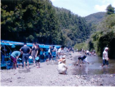 八曽モミの木キャンプ場写真2
