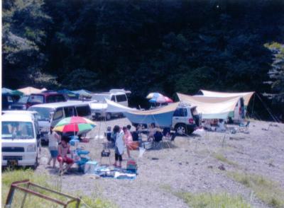 八曽モミの木キャンプ場写真3