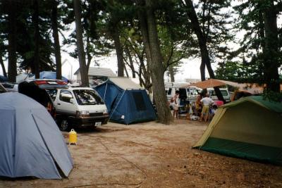 マキノサニービーチ知内浜オートキャンプ場写真1