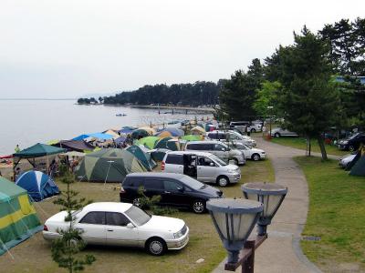マキノサニービーチ高木浜オートキャンプ場写真2