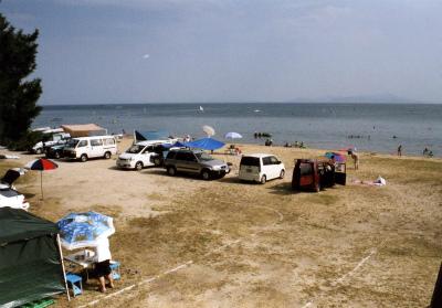 びわ湖畔白浜荘オートキャンプ場写真4