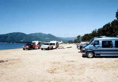 びわ湖畔白浜荘オートキャンプ場写真5