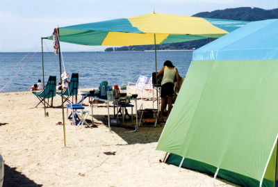 びわ湖畔白浜荘オートキャンプ場写真6