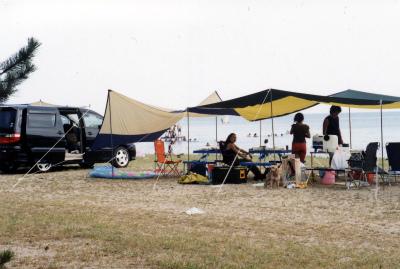 びわ湖畔白浜荘オートキャンプ場写真8